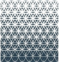 The Geo Flower Gradient wallpaper mural will add a bold punch of design to your walls. A geometric flower-like design gradually fades from white to a navy blue in this contemporary geometric pattern. Free US shipping. Geometric Patterns, Geometric Mandala, Geometric Flower, Geometric Wallpaper, Pattern Wallpaper, Wall Wallpaper, Photo Wallpaper, Abstract Pattern, Geometric Tattoos Men