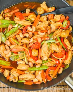 Yummy Food, Tasty, Cat Food, Kung Pao Chicken, Wok, Lchf, Food Inspiration, Dessert Recipes, Food And Drink