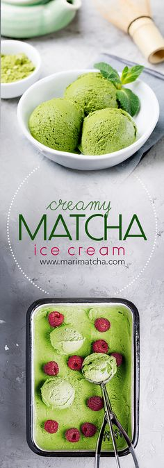 Creamy Matcha Green Tea Ice Cream – MariMatcha Tea Company   Pure Organic Ceremonial Grade Matcha