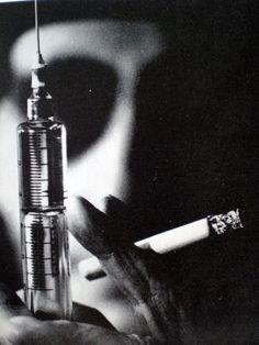 William S. Burroughs as 'Opium Jones', 1960s, Robert Frank