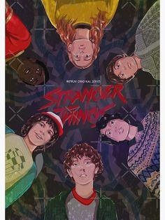 """Stranger Things 2 "" Poster by klutterschmidt Stranger Things 2 Poster, Stranger Things Aesthetic, Eleven Stranger Things, Stranger Things Netflix, Wall Prints, Poster Prints, Room Posters, Movie Posters, Indie Kids"