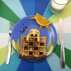 Humpty dumpty kid's breakfast