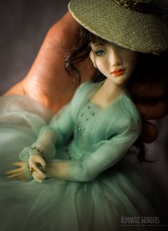 Made to order Ooak Dolls, Art Dolls, Dahlia, Handicraft, Romantic, Handmade, Decor, Tela, Craft