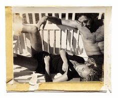 Josh & Ingrid, Harbour Island, 2003 - Framed / 16 x 20