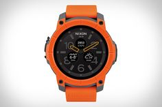 Nearly every smartwatch tracks your activity. Yet very few are built for those who are truly active. Powered by Android Wear and the new Snapdragon Wear 2100 chip, the Nixon Mission Smart Watch was designed with surfers, skiers, and snowboarders...