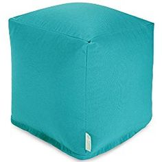 Majestic Home Goods Small Cube, Teal
