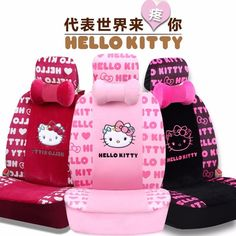 Hello Kitty Pink Princess Series Car Seat Cushion Car Seat Cover Set New Listing