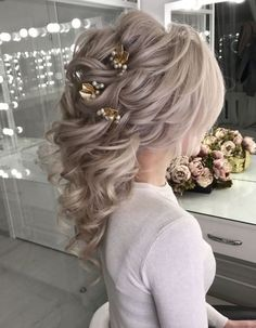 Coiffure De Mariage : Featured Hairstyle:lavish.pro;www.lavish.pro; Wedding hairstyle idea.