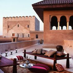 awesome Ksar Char-Bagh in Marrakech
