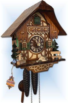 Schwer Classic Black Forest cuckoo clock 9'' - Bavarian Clockworks