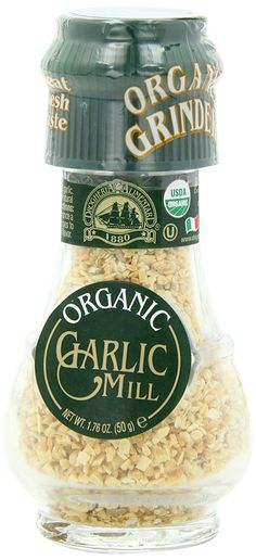 Drogheria and Alimentari Organic All Natural Spice Grinder Garlic, 1.76 Ounce Jars (Pack of 3) > Stop everything and read more details here! : Fresh Groceries
