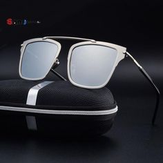 ccba933b992f FuzWeb:Samjune Polarized Sunglasses Men Driving Glasses Mirror Goggle  Eyewear Male Accessories Mirrored Sunglasses Mens