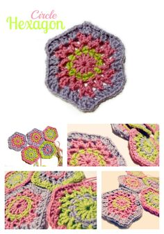 Circle Hexagon Granny | kardiomuffelchen