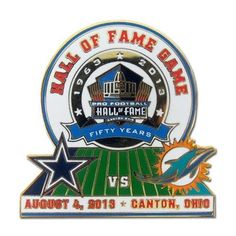 Shop for team apparel and Hall of Fame exclusives in the Pro Football Hall of Fame store. Hall Of Fame Game, Football Hall Of Fame, Tony Romo, Team Apparel, Nfl, Sports, Stupid, Sunday, Play