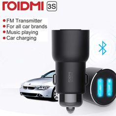 Xiaomi ROIDMI 3S Bluetooth 5V 3.4A Car Charger Music Player FM Smart APP for iPhone and Android Smart Control MP3 Player  Price: 19.36 & FREE Shipping #computers #shopping #electronics #home #garden #LED #mobiles #rc #security #toys #bargain #coolstuff |#headphones #bluetooth #gifts #xmas #happybirthday #fun