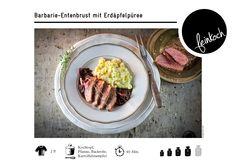 Barbarie-Entenbrust mit Erdäpfelpüree #feinkoch #vienna