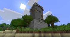 Medieval Tower, ancient look