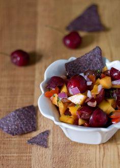 Cherry Cilantro Mango Salsa!