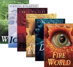 Icefire Complete Collection (6 Book Set) (The Last Dragon Chronicles, Books 1-6: The Fire Within; Icefire; Fire Star; The Fire Eternal; Dark Fire; and Fire World) by Chris DLacey- On the wish list to get