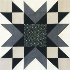 Hi all! It's Christa here from Christa Quilts and I'm delighted to share my 12″ finished block for The Bee Hive with you today! It's called Double Star and looks equally striking in black and white or color. Here's what the quilt layout looks like when the block is repeated. I just love the secondary …tutorial.