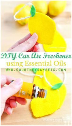 DIY Car Air Freshener using Essential Oils - Scent your car with natural oils…