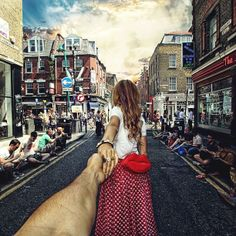 De la mano hasta el fin del mundo (The Brick Lane, London)