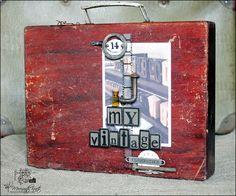 Meresanth Krafts: Walizka na skarby / Treasure suitcase