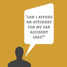 Can I Afford An Attorney For My Phoenix Car Accident Case? Yes!  If you have been involved in a motor vehicle collision, most attorneys who handle these types of cases do so on a contingency fee basis.  Read More: -  http://www.zacharassociates.com/personal-injury-wrongful-death-faq/arizona-personal-injury-video-faq-frequently-asked-questions-and-answers/can-i-afford-a-lawyer-for-a-car-accident-case-arizona-personal-injury-faq/