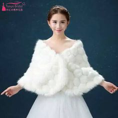 1656b386103 Find More Wedding Jackets   Wrap Information about Ivory wedding cape red faux  fur coat bolero