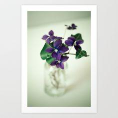 Sweet+Violet+Art+Print+by+Olivia+Joy+StClaire+-+$19.00