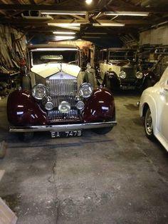 Rolls Royce 20/25 Hooper sport saloon For Sale (1936)