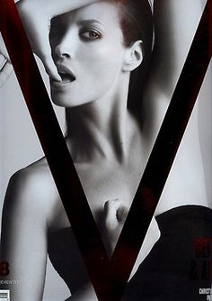 Christy Turlington in awesome V