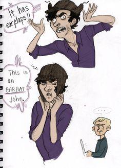 Yes, very attractive, Sherlock.