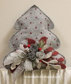 Felt Christmas Decorations, Christmas Ornament Crafts, Holiday Crafts, Christmas Stockings, Felt Gifts, Felt Patterns, Felt Hearts, Felt Toys, Merry Xmas