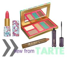 """""""Untitled #2"""" by kelsksmith ❤ liked on Polyvore featuring beauty and tarte"""