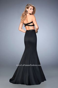 Look red-carpet-ready in Gigi Prom Style 22220 available at WhatchamaCallit Boutique