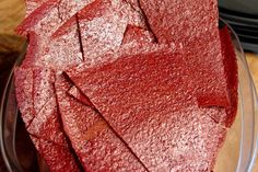 Bite me, I'm vegan: Plum Fruit Leather