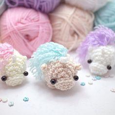 crochet unicorn pattern plush amigurumi pattern by mohustore
