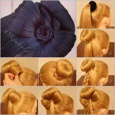 DIY Braided Bow Hairstyle