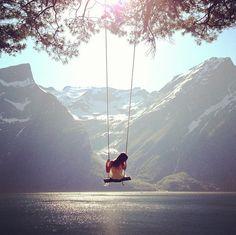 Lazy summerdays in Hjørundfjord, Norway. by Irene Lovund