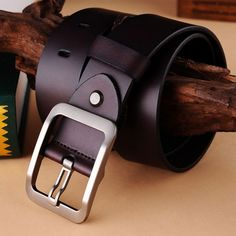 100% Genuine Leather belts for men -  33.99 Ceintures De Mode, Mode Du Cuir 69a176985d8