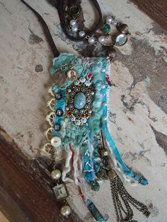 Ocean Diva Gypsy necklace Travelers Amulet by PhiepbySophie, €109.00