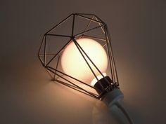 Diamond cage light by Louie Rigano
