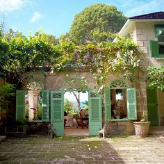 Caribbean Hideaways, Rizzoli (This got me thinking about living in an amazing, sunny location and having a studio on a covered porch.)