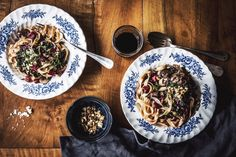 Mushroom Swiss Chard Pasta is full of gorgeous flavors and textures. A pasta dish you'll return to again and again.