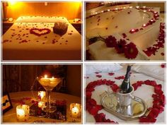Romantic night ideas at home for him full size of fun her couples best romance images on bedrooms cool date Romantic Room, Romantic Evening, Romantic Things, Romantic Dates, Romantic Dinners, Romantic Gifts, Romantic Ideas, Romantic Bedding, Romantic Travel