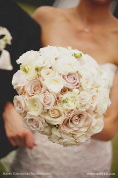 Blush Bridal bouquet.