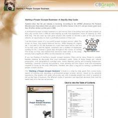 [GET] Download Starting A Pooper Scooper Business E-book Bonus! : http://inoii.com/go.php?target=tammiep