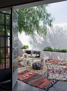 We love a patio that's siesta-friendly