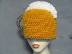 Jolly J Creations: Cheers! (Beer Mug Hat)